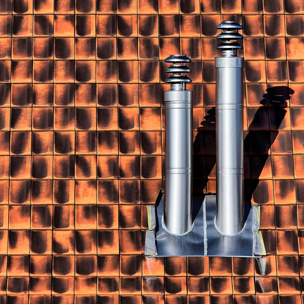 Vent Stack on a Roof
